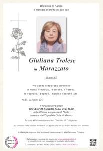 epigrafe crocetta rosa GIULIANA TROLESE