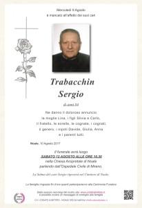 epigrafe crocetta rosa TRABACCHIN SERGIO