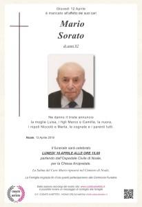 epigrafe crocetta MARIO SORATO