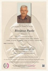epigrafe madonna BISSACCO PAOLO