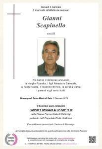 epigrafe crocetta SCAPINELLO GIANNI 2019