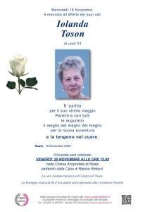 Epigrafe Rosa Bianca IOLANDA TOSON