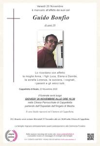epigrafe crocetta GUIDO BONFIO