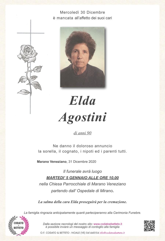 Copia di epigrafe croce e rosa AGOSTINI ELDA