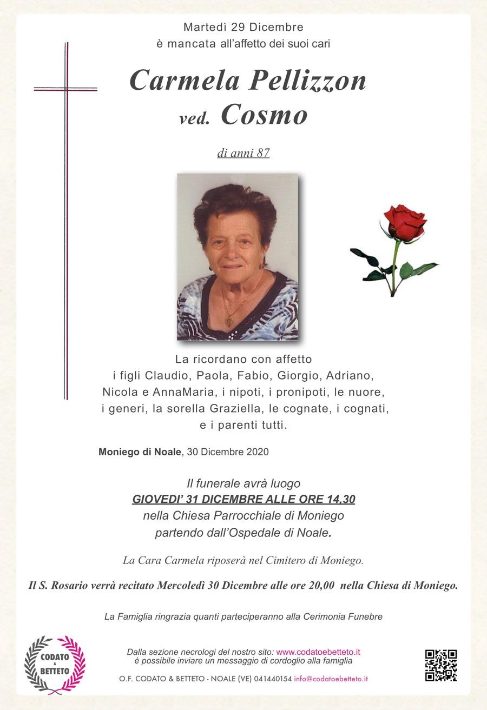 Copia di epigrafe crocetta :rosa rossa Carmela Pellizzon