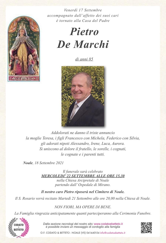 epigrafe madonna MONTEBERICO DE MARCHI PIETRO